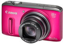 "Canon Powershot SX240 HS FSL Pink | <a target=""_blank"" href=""https://www.magezinepublishing.com/equipment/images/equipment/PowerShot-SX240-HS-4023/highres/canon-Powershot-SX240-HS_FSL_pink_1344938754.jpg"">High-Res</a>"