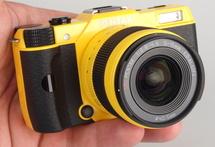 "Pentax Q7 Yellow (2)<br /><a target=""_blank"" href=""https://www.magezinepublishing.com/equipment/images/equipment/Q7-5193/highres/pentax-Q7-yellow-2_1371034203.jpg"">High-Res</a>"