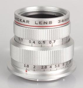 Snapshooter 34mm f/1.8