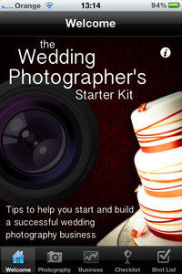 Wedding Photographer's Starter Kit