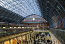 "St Pancras Station Day | 1/60 sec | f/2.0 | 23.0 mm | ISO 200 | <a target=""_blank"" href=""https://www.magezinepublishing.com/equipment/images/equipment/X100F-6356/highres/Fujifilm-X100F-St-Pancras-Station-Day-DSCF1189_1489048354.jpg"">High-Res</a>"