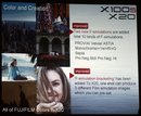 Fujifilm X20 Slides