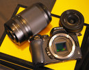 Nikon Z50 With Both Lenses