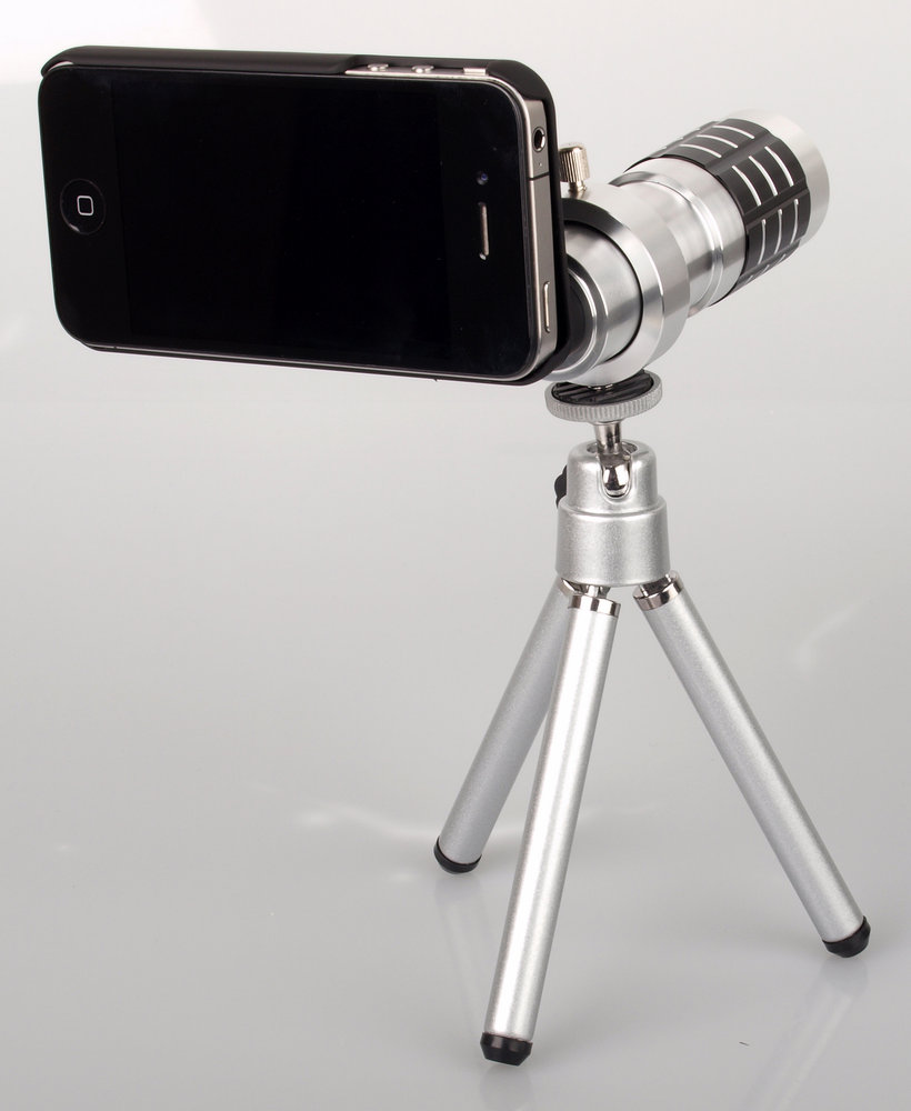 telephoto lens for iphone vtec iphone 4 12x aluminium telephoto lens images 16255
